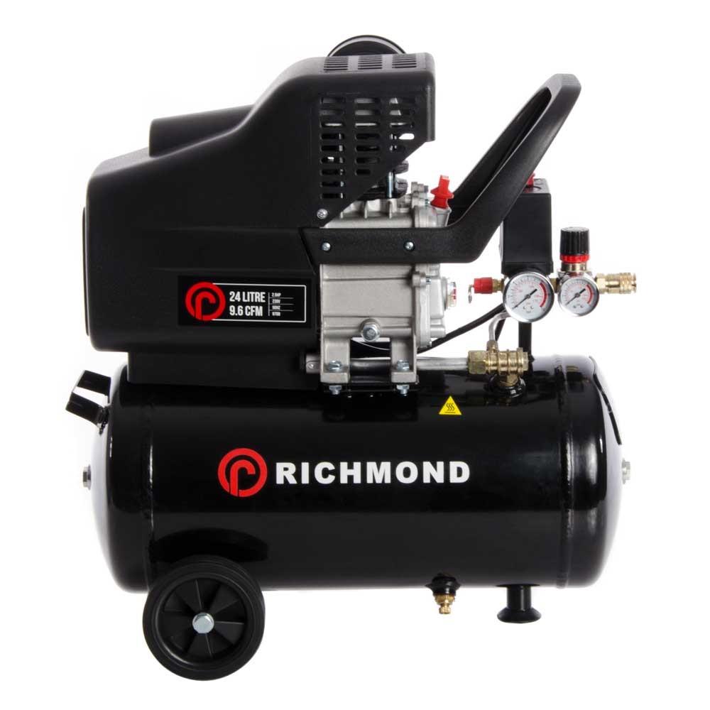 24 Litre Air Compressor - 9 6 CFM, 2 5 HP, 24L