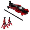 2.5 Ton Trolley Garage Jack & 2 Ton Axle Stand Kit
