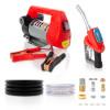 12V Portable Diesel Transfer Fuel Pump Kit 12V - With Digital Flow Meter