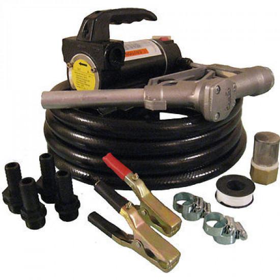 24V Portable Diesel Biodiesel Transfer Fuel Pump Kit - 24 Volt
