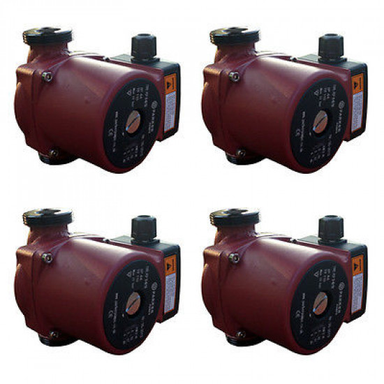 4 x Central Heating Circulating / Circulator Pumps (Plumbers Pack)