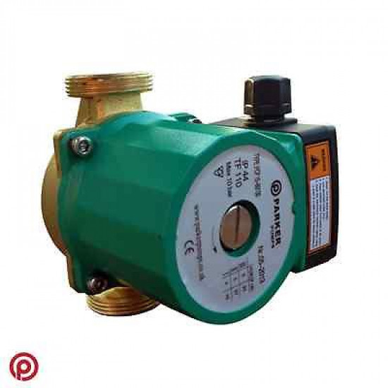 Brass Central Heating Circulating / Circulator Pump - Replaces Grundfos / Wilo / DAB + More