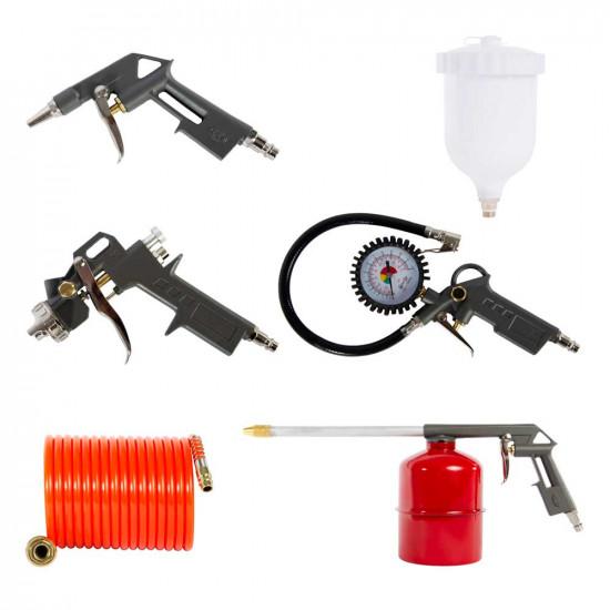 5 Piece Air Compressor Tool Kit
