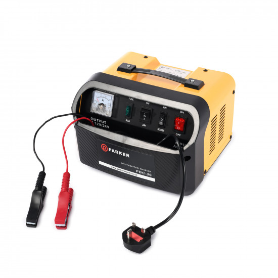 12V / 24V Battery Charger - 30 Amp