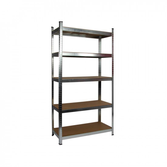 Galvanised Garage Shelving Unit (265KG) - Boltless