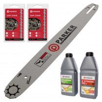 "18"" Bundle Pack - Bar and 2 x Saw Chain + Oils"