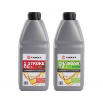 2 Stroke Oil & Chainsaw Oil Pack