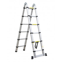 3.8M Multi Purpose Telescopic Aluminium DIY Foldable Extendable Ladders