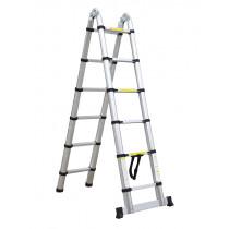 3.2M Multi Purpose Telescopic Aluminium DIY Foldable Extendable Ladders