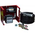 24V Wall Mounted Diesel Transfer Fuel Pump Kit 24V - With Fuel Meter
