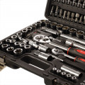 "108 Piece 1/4"" & 1/2"" DR Socket Set, Torx & Torque Wrench"
