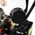 52cc Petrol Earth Auger / Fence Post Hole Borer + 3 Auger Bits + Extension Bit + More