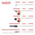52cc Multi Function 5 in 1 Garden Tool - Brush Cutter, Grass Trimmer, Chainsaw, Hedge Trimmer + Oils