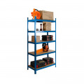 3 x Powder Coated Garage Shelving Unit (265KG) - Boltless