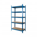 Powder Coated Garage Shelving Unit (265KG) - Boltless
