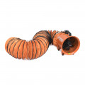 "10"" Portable Ventilation Fan PVC Ducting"