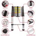 Telescopic 3.8M Aluminium DIY Foldable Extendable Builders Multi Purpose Ladder