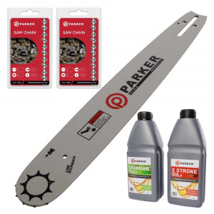 "16"" Bundle Pack - Bar and 2 x Saw Chain + Oils"