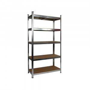 Galvanised Garage Shelving Unit (175KG) - Boltless
