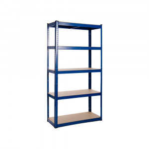 Powder Coated Garage Shelving Unit (175KG) - Boltless