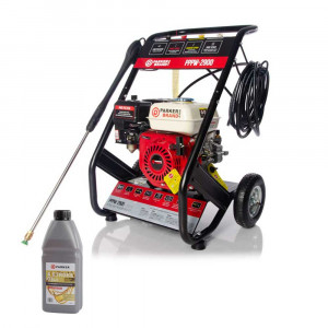 Petrol Pressure Jet Washer - 6.5HP Engine - 2900 PSI + OILS