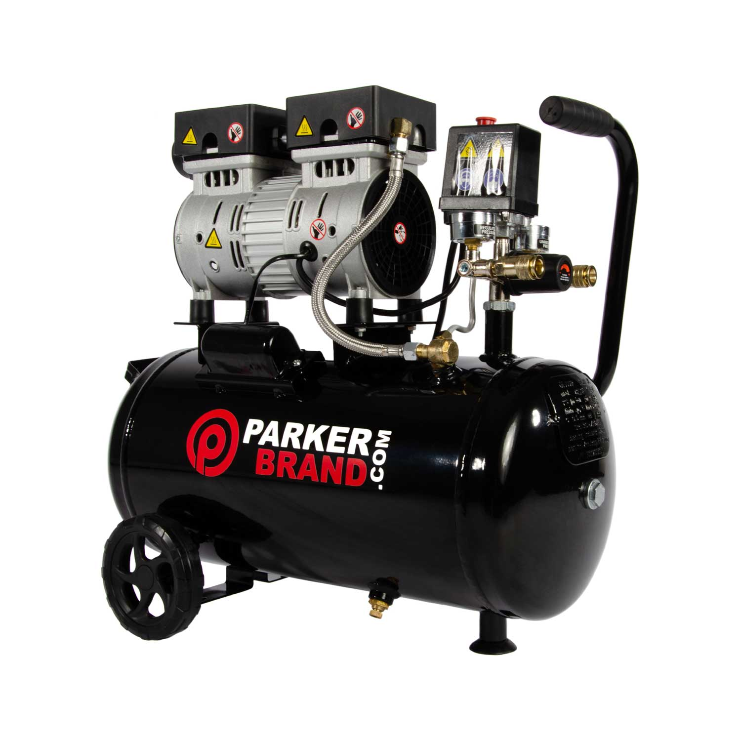 Silently Does It: ParkerBrand Oil-less Air compressors